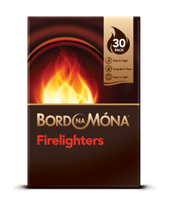 Bord Na Mona Firelighters 30'S (16/Ctn)