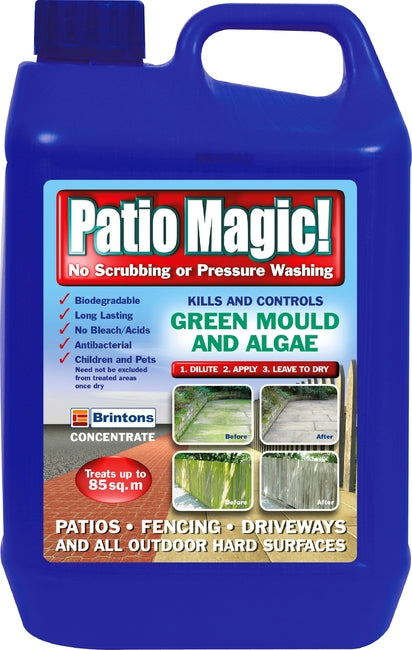 Patio Magic 5Ltr (4/Carton)