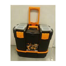 Toolbox 2 Organisers, Tray & Power Tool Compartment