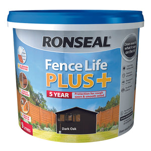 Fence Life Plus 9L Dark Oak