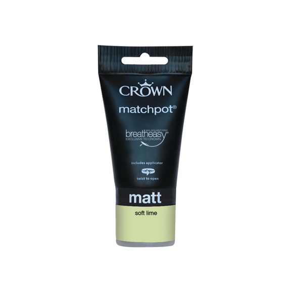 Crown Matt Soft Lime 40ML