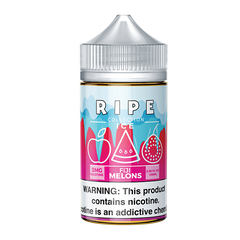 Fiji Melons on Ice By Vape100 Ripe Collection on Ice