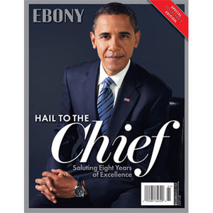 "EBONY ""President Barack Obama"" Special Collector's Edition (Jan 2016)"