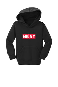 EBONY THROWBACK LOGO COLLECTION - HOODIE (CHILD)