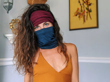 Load image into Gallery viewer, handmade-cotton-mask-headband