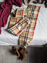Load image into Gallery viewer, Classic Plaid Fleece Leg Warmer