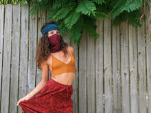 Load image into Gallery viewer, boho-cotton-gaiter-mask