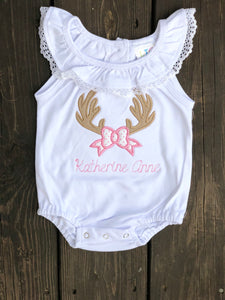 Deer Antler Applique