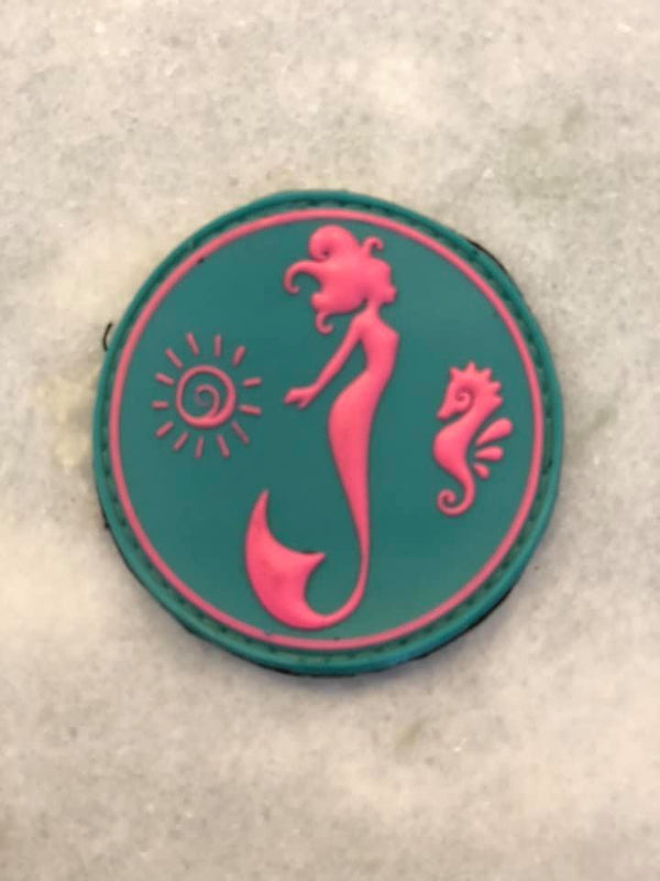 3D PVC MMERMAID PATCH