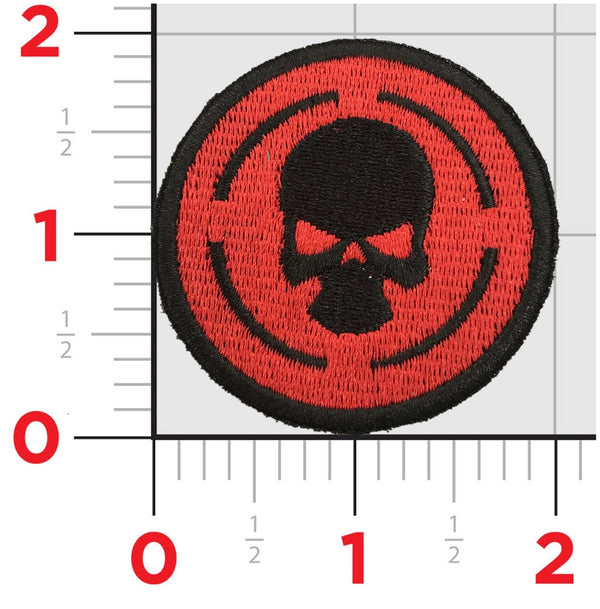 TACTICAL PATCH LOGO RED