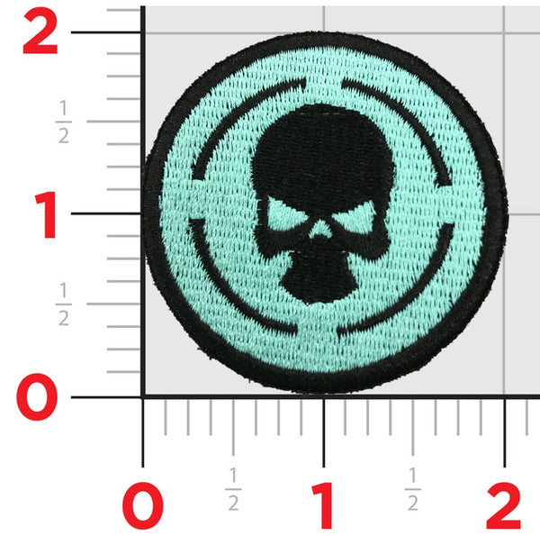 TACTICAL PATCH LOGO TEAL