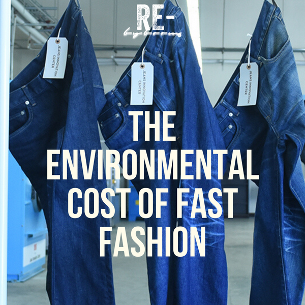 The Environmental Cost of Fast Fashion? Like What Is It Anyway?