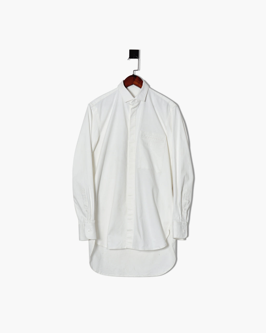 ROSEN Aalto Shirt in Heavy Cotton Twill Sz 2