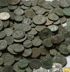 Roman-Coins-and-uncleaned-roman-coins-www.nerocoins.com