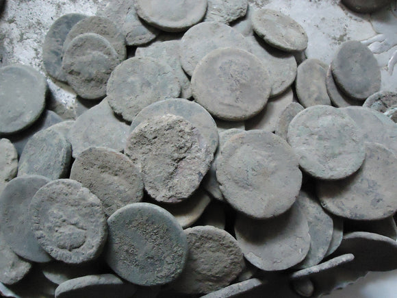 Larger-uncleaned-Roman-coins-www.nerocoins.com