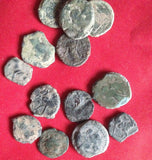 Mixed-Quality-Ancient-Roman-Coins-Castulo-Bulls-or-Horse-from-Spain-www nerocoins.com