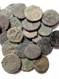 LARGE-UNCLEANED-ROMAN-COINS-15-to-36mm-LOWER-GRADE-www.nerocoins.com