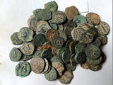 uncleaned-ancient-Judea,-Jewish-Biblical-coins-www.nerocoins.com