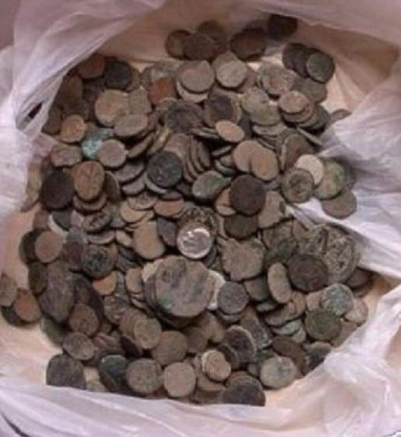 Uncleaned Roman-Coins-from-the-Middle-east-and-Israel-www.nerocoins.com