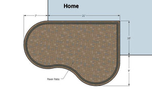 Paver Patio #10-043001-01
