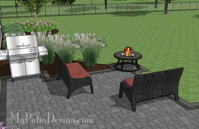 Paver Patio #S-038001-01