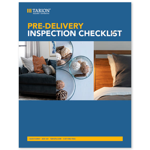 Pre-Delivery Inspection (PDI) Checklist