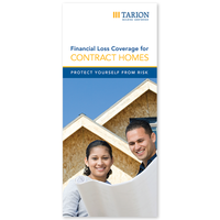 Financial Loss Coverage for Contract Homes