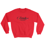 Beauty and Brains Black Logo Sweatshirt- Various Colors