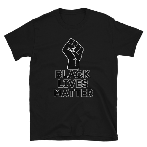 Black Lives Matter Resist Fist T-Shirt