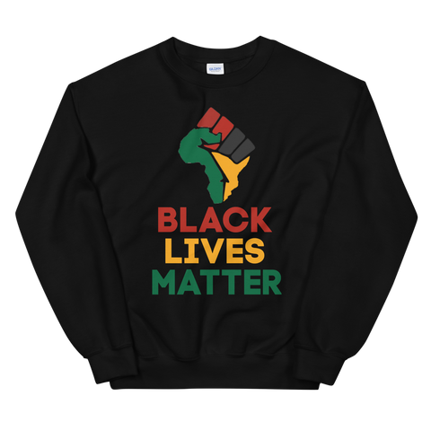 Black Lives Matter Unisex Sweatshirt