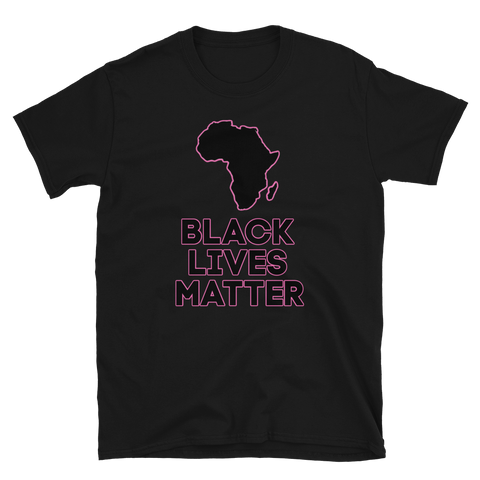 Black Lives Matter T-Shirt - Pink
