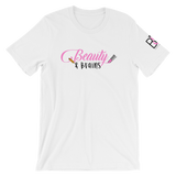Beauty and Brains Logo Short-Sleeve T-Shirt