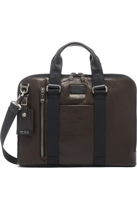 Alpha Bravo Aviano Slim Briefcase