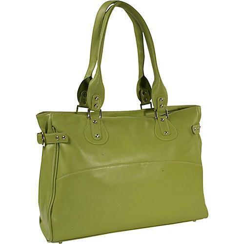 Piel Leather Large Ladies Side Strap Tote