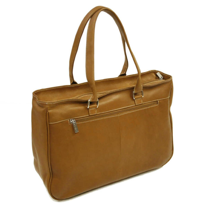 Piel Leather Shoulder Buckle Tote