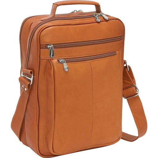 Piel Leather Laptop Shoulder Bag