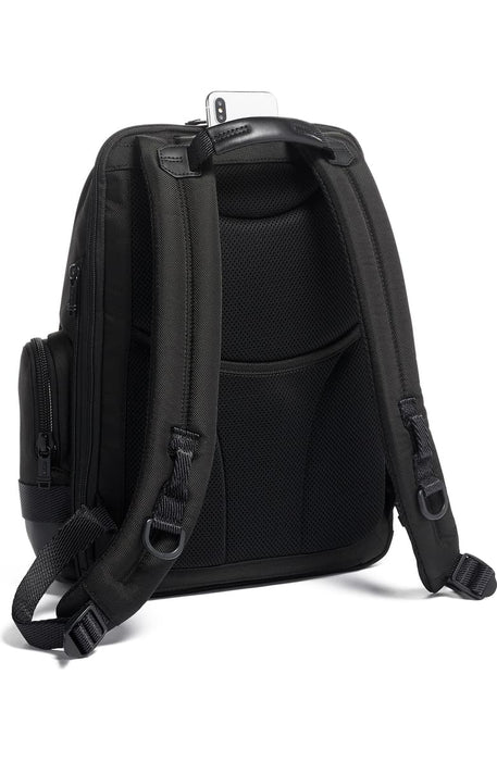 Alpha Bravo Nathan Black Expandable Backpack
