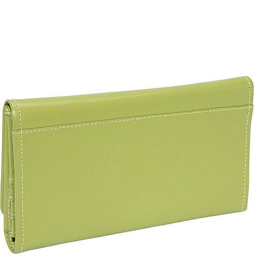 Piel Leather Deluxe Ladies Wallet