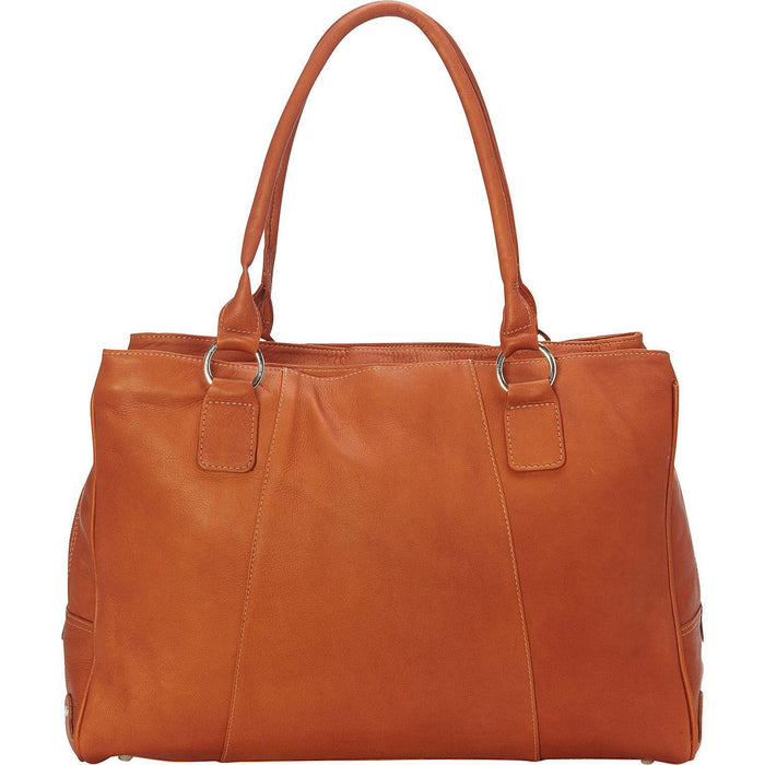 Piel Leather Laptop Travel Tote