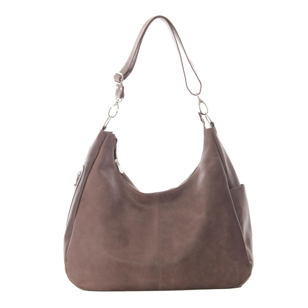 Piel Leather Large Crossbody/Hobo Shoulder Bag