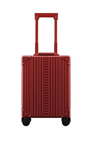 "Aleon 20"" Vertical Carry-On Aluminum Hardside Luggage Or Business Briefcase (Ruby) Red"