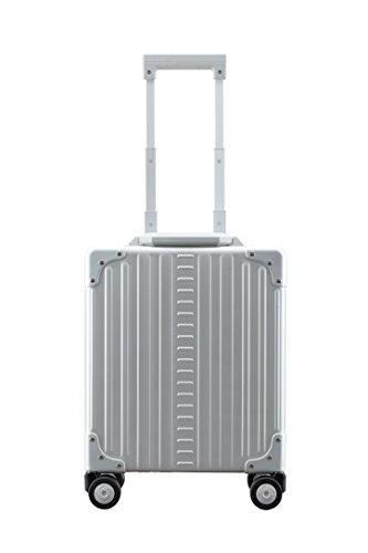 "Aleon 16"" Vertical Underseat Carry-On Luggage Or Business Briefcase (Platinum) Sliver"