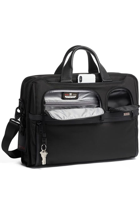 Alpha 3 Compact Large 15-Inch Laptop Briefcase