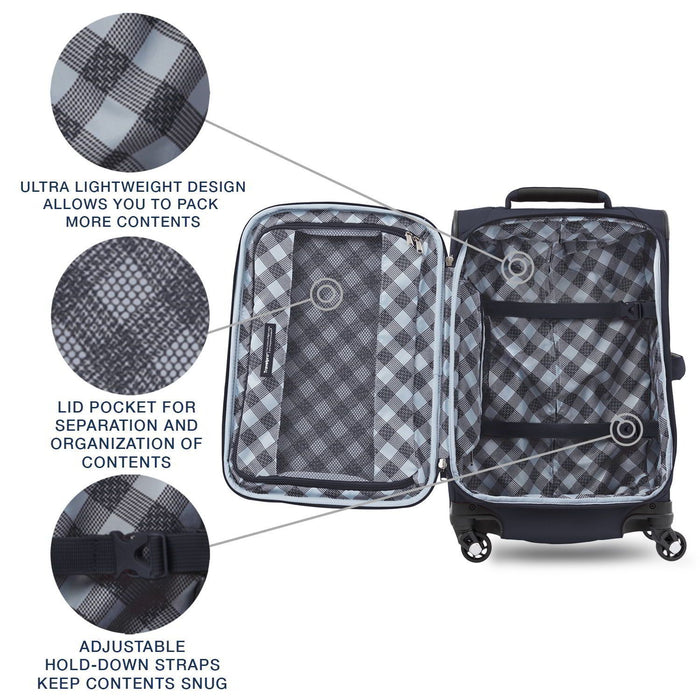 "Maxlite® 5 21"" Expandable Carry-On Spinner"