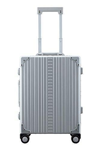 "Aleon 21"" Carry-On Aluminum Hardside Luggage (Platinum) Silver"