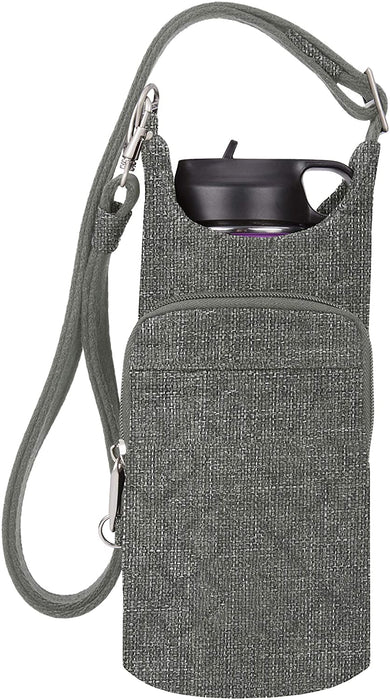 Travelon: Boho Water Bottle Tote Pouch