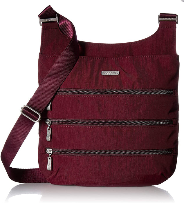 Baggallini Big Zipper Travel Crossbody Bag.