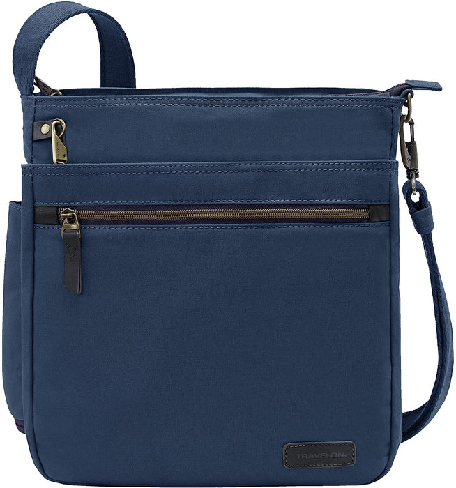 Travelon: Crossbody Anti-Theft Courier N/s Crossbody Bag