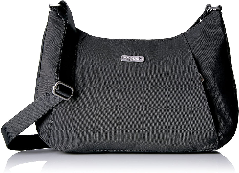 Baggallini Slim Crossbody Hobo Bag