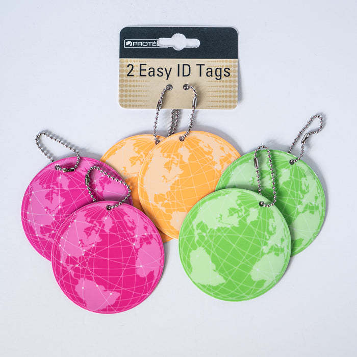 World Luggage Tag